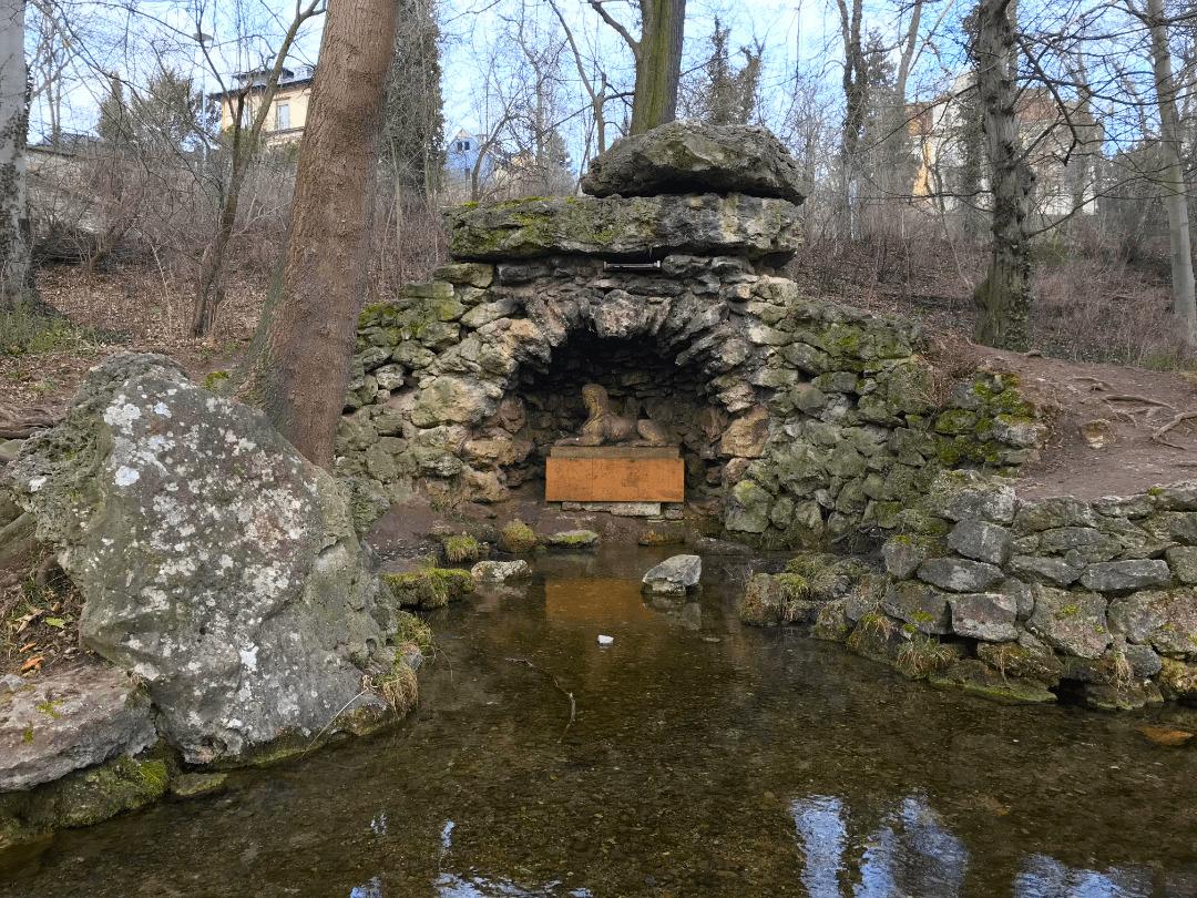 Sphinxgrotte Park an der Ilm Weimar