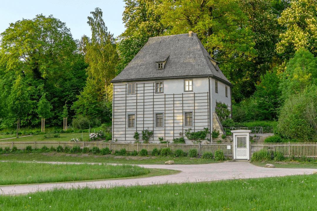 Goethes Gartenhaus im Park an der Ilm Weimar
